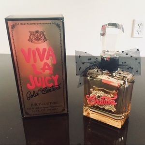 Viva la juicy Gold couture EDP 3.4oz almost full